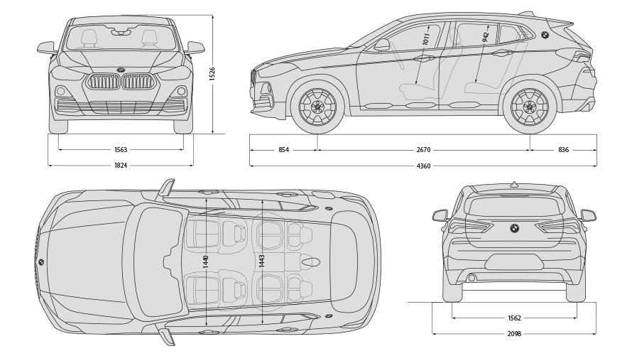 Technische Daten BMW X2