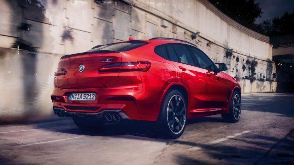 BMW X4 M Heck