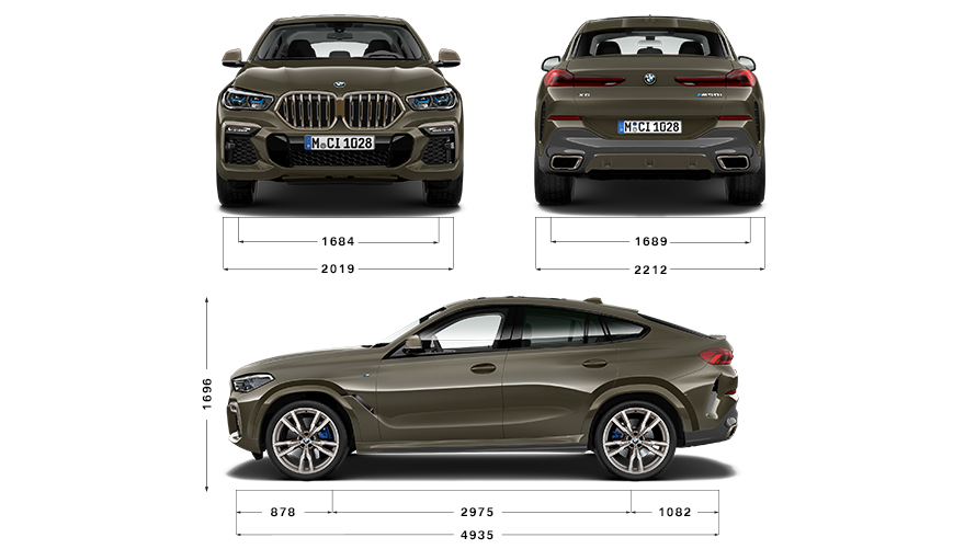 Technische Daten BMW X6 M