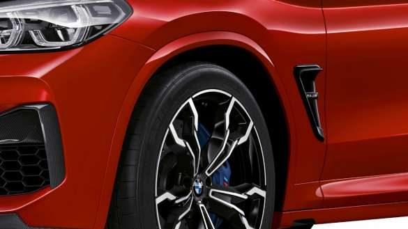 BMW X4 M M spezifisches Fahrwerk