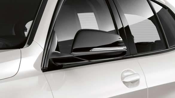 BMW 1er LED Spiegelkappen schwarz