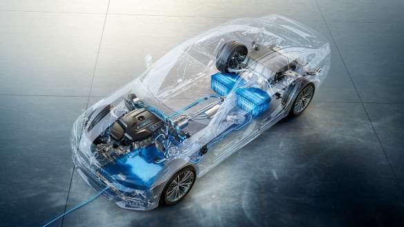 BMW 5er Touring Plug-In Hybrid Energiemanagement