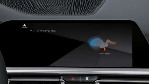 BMW M440i xDrive Intelligent Personal Assistant