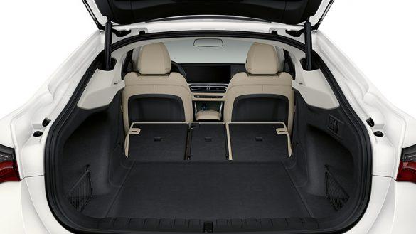 BMW i4 Heckklappe und Kofferraum